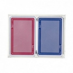 Coffret 2 jeux de cartes - Cristal : Cartes Club