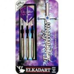 Fléchettes Tungstène 80% Excalibur Acier