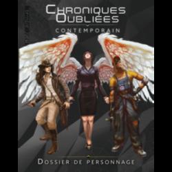 Chroniques Oubliées Contemporain - Dossier de Personnage