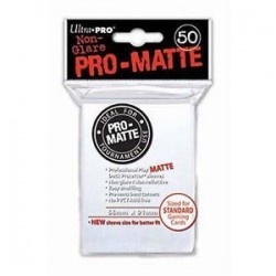 Sleeves Pro-Matte Blanc 66 mm x 91 mm (50)