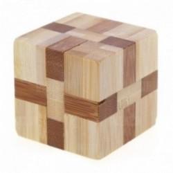 Casse-tête Bambou 3D : Cube