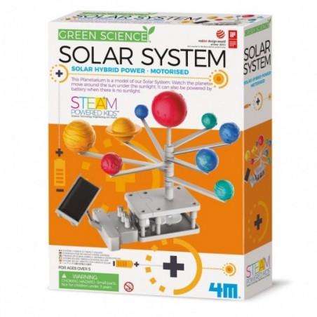 STEAM - Green Science : Système solaire motorisé