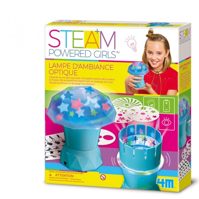 STEAM - Powered Girls : Lampe d'ambiance optique