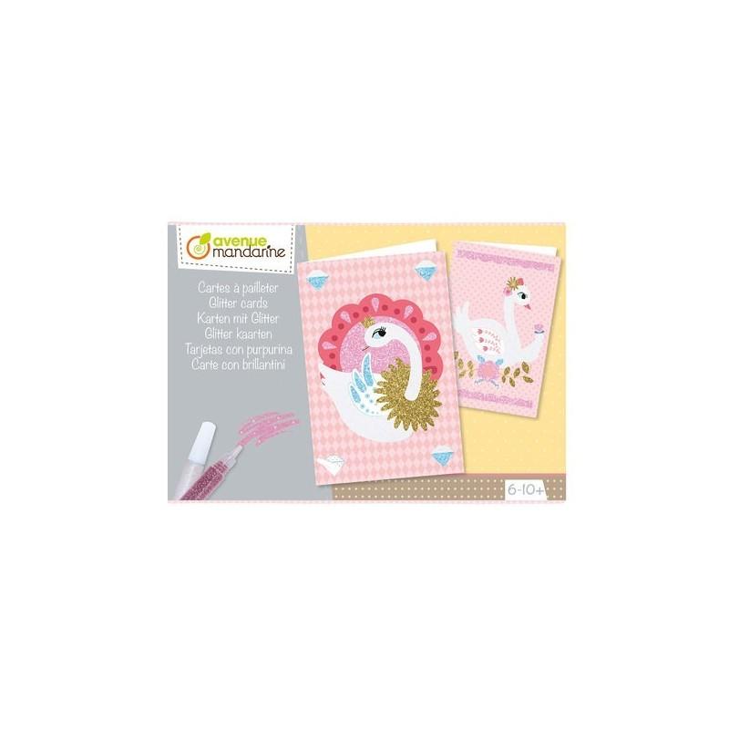 Boîte créative : Cartes à pailleter