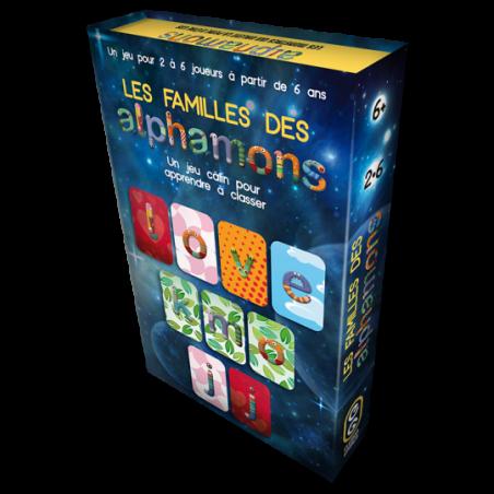 (Précommande) Alphamons : Les familles des Alphamons