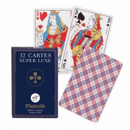 Cartes à jouer - 32 Cartes Super luxe