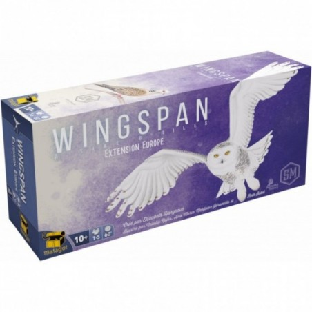 Wingspan - Extension Europe (FR)