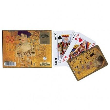 Coffret 2 jeux de cartes - Klimt : Adele