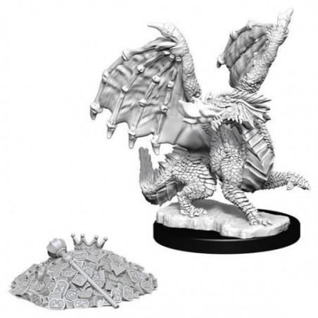 D&D Nolzur's Marvelous Miniatures - Red Dragon Wyrmling/Dragonnet Rouge