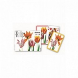 Coffret 2 jeux de cartes - Tulips Tulipes