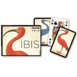 Coffret 2 jeux de cartes - Ibis