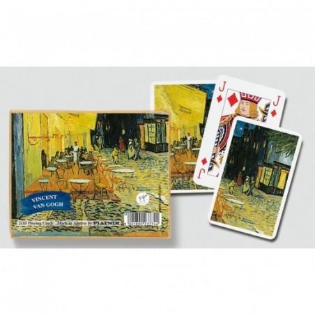 Coffret 2 jeux de cartes - Vincent Van Gogh : Café le soir