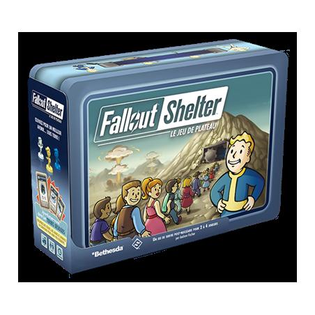 (Précommande) Fallout Shelter - Le jeu de plateau