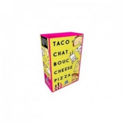 Taco Chat Bouc Cheese Pizza!