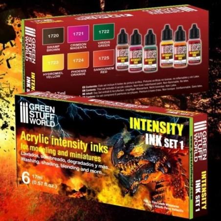 Green Stuff World - Set 6x Encres Intensity - Set 1