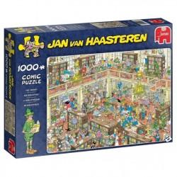 Puzzle Jan Van Haasteren 1000 Pcs - La bibliothèque