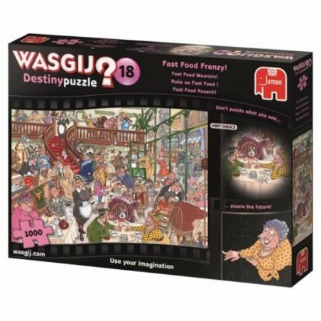 Wasgij - Ruée au Fast Food - 1000 Pcs