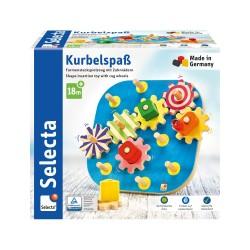 KurbelspaB - Jeu de formes empilables avec engrenage