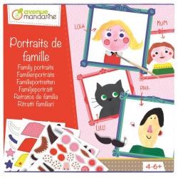 Coffret créatif - Portrait de famille