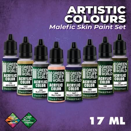 Green Stuff World - Set Peinture - Peau Maléfique