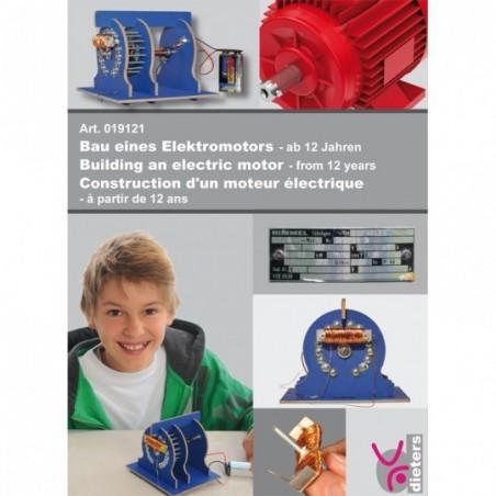Construction d'un moteur électrique