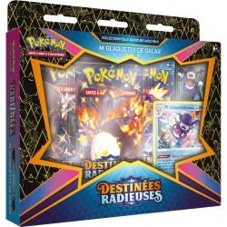 Pokemon – 4.5 Destinées Radieuses - Coffret Pin's M. Glaquette de Galar
