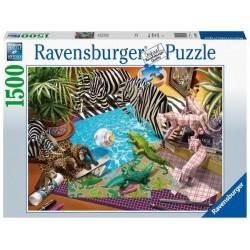 Puzzle 1500 pces : Aventure & Origami