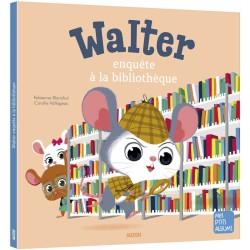 Walter enquête à la bibliothèque