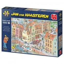 Puzzle 1000 pces - Jan Van Haasteren - La pièce manquante