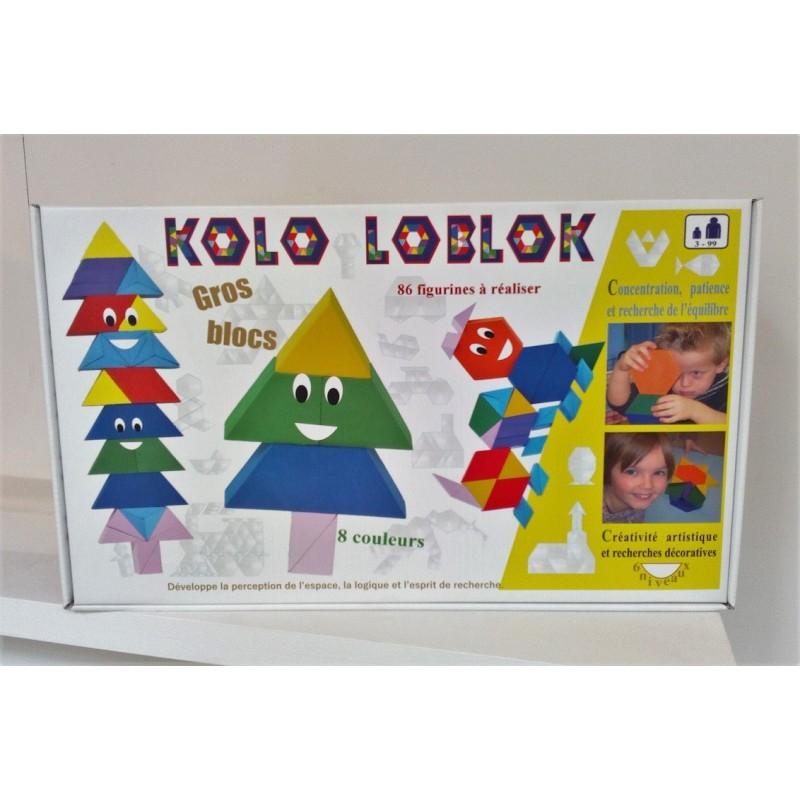Kolo Loblok : 55 blocs en mousse