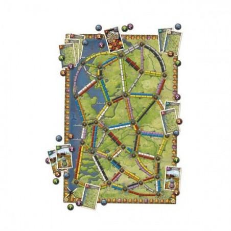 Les Aventuriers du Rail - Map Collection : Pays-Bas