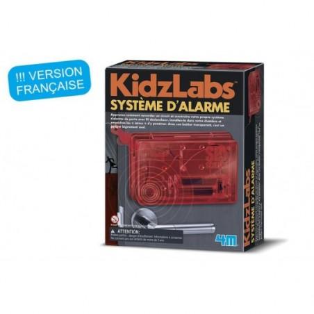 KidzLabs - Système d'alarme - espionnage scientifique