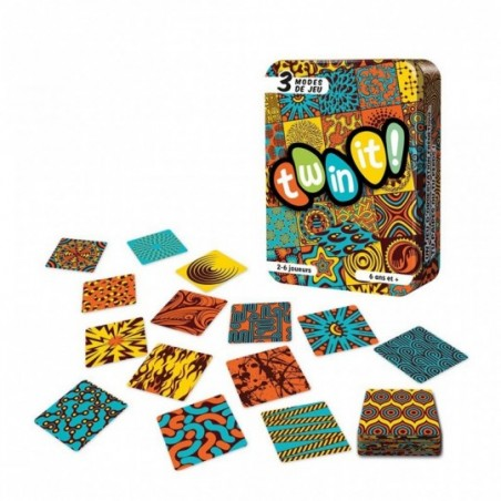 Twin it ! - Jeu de cartes
